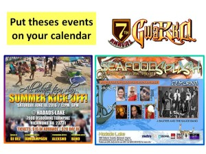 Put theses events